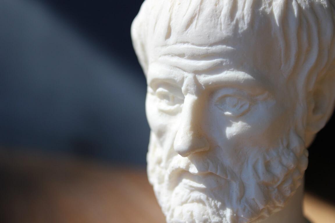 «Wir sind, was immer wir tun»</br>Aristoteles, 367-347 v.Chr.