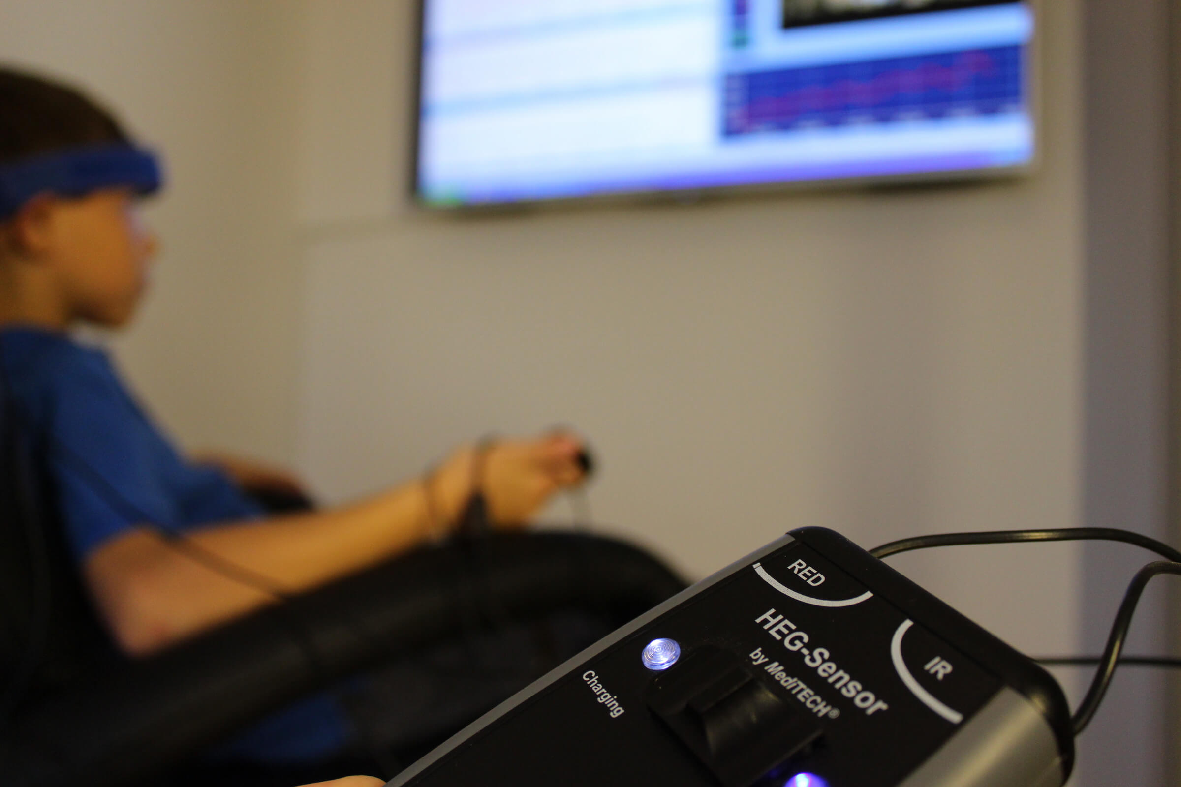 HEG - Hämo - Enzephalographie als Lernunterstützung</br>Durch  Aktivierung  erfolgt eine Steigerung der Durchblutung  des  präfrontalen Cortex